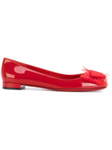 Salvatore Ferragamo - Marlia Ballerina Shoes - Red