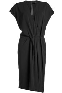 By Malene Birger - Draped Dress - Black