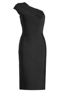 Roland Mouret - One-Shoulder Dress - Black