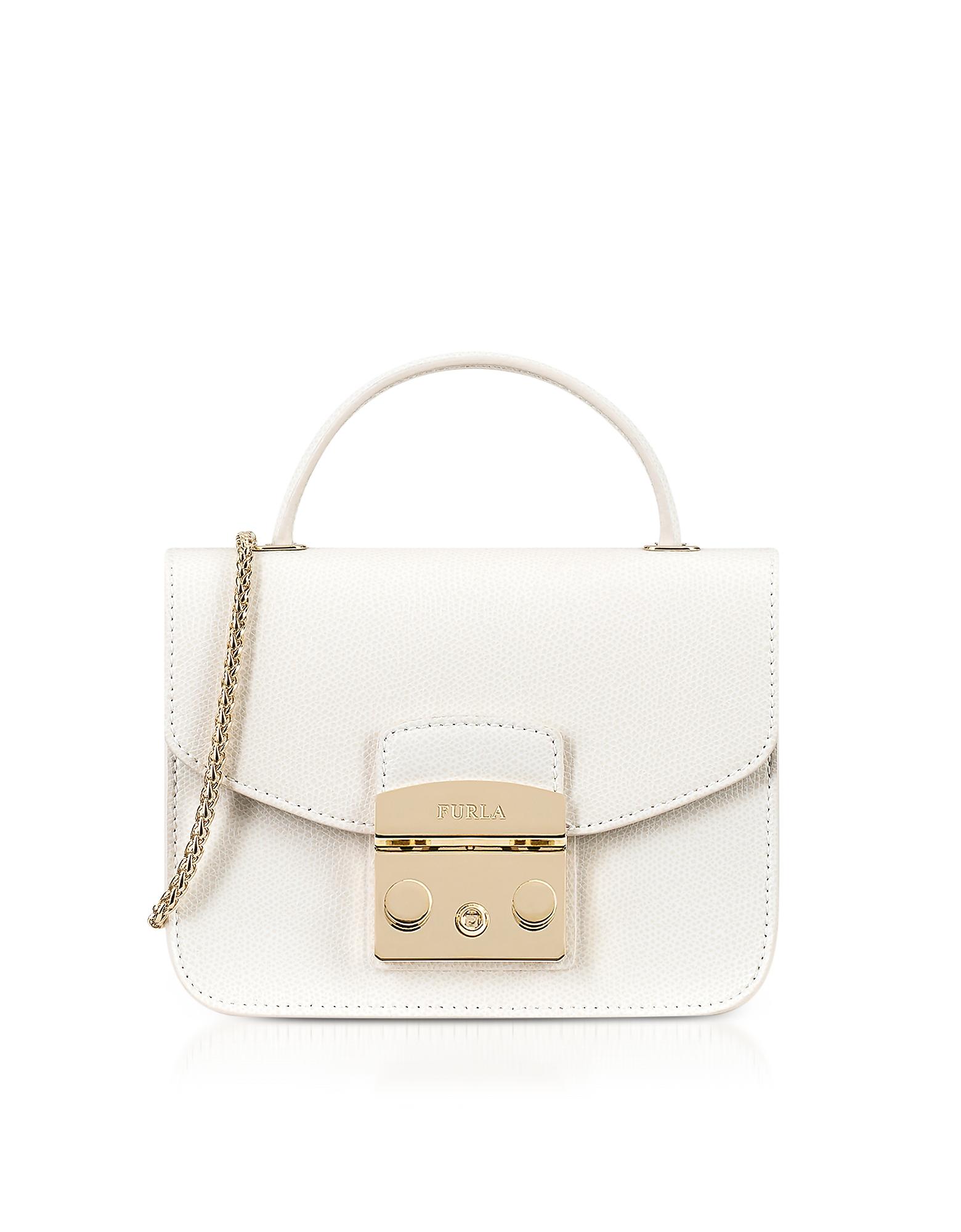Furla – Petalo Metropolis Mini Top Handle Crossbody Bag