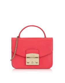Furla - Rose Metropolis Mini Top Handle Crossbody Bag