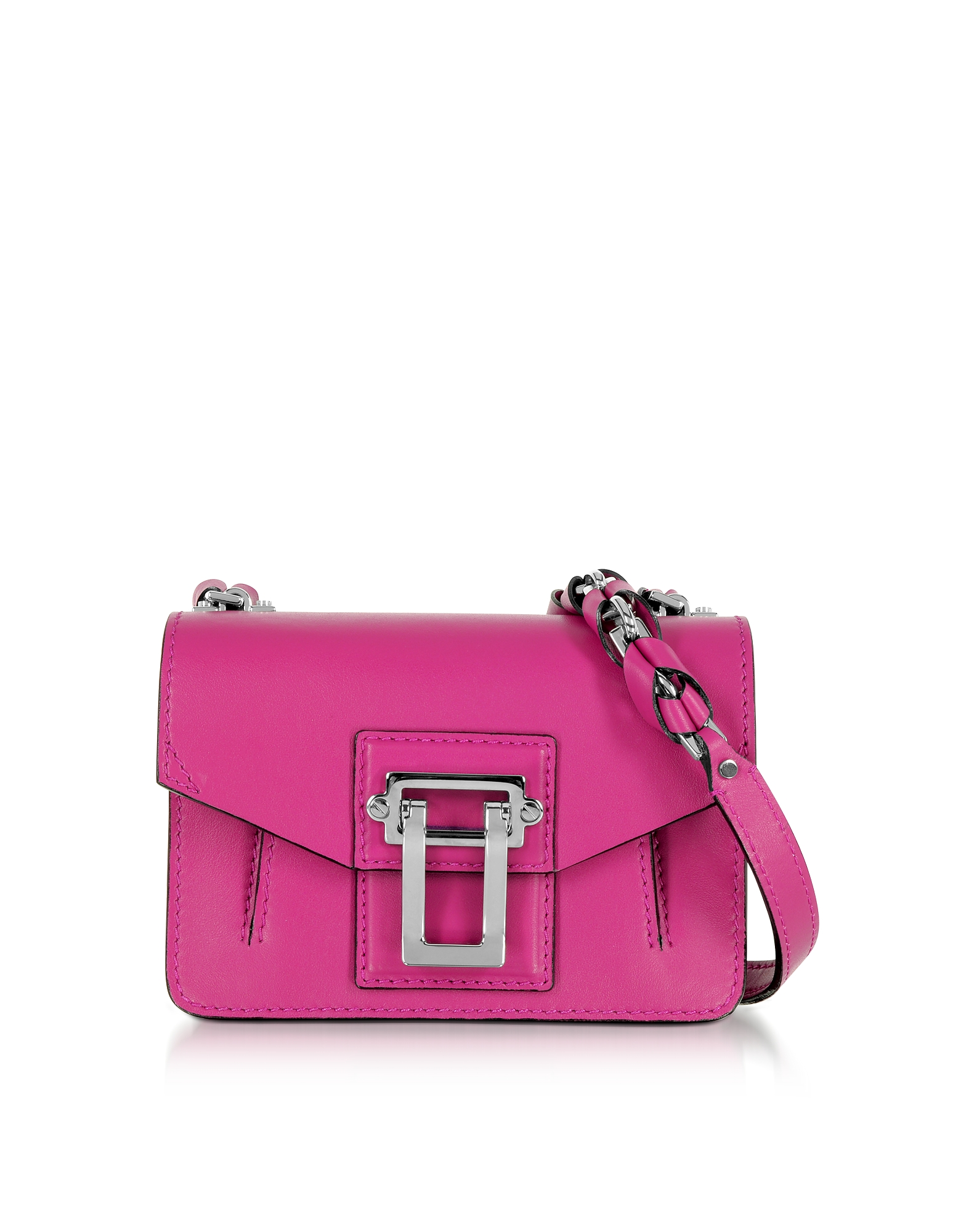 factory authentic 100% satisfaction guarantee search for authentic Proenza Schouler - Hava Chain Peony Smooth Leather Crossbody Bag