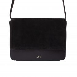9a0b2603c87 MERSOR - Personalized Crossbody Bag - Black   Gold