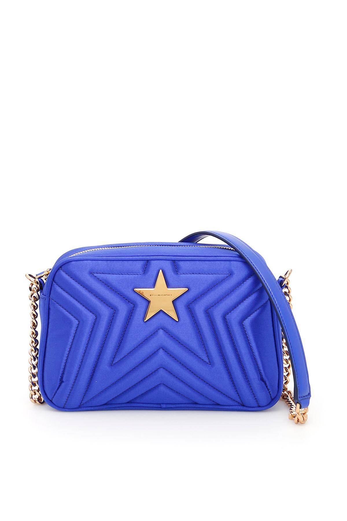 2690527c3f74 Stella McCartney - Quilted Satin Stella Star Bag