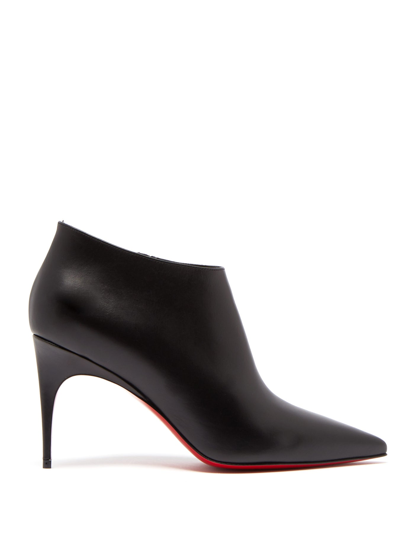 la moitié 10ecd 8b4f2 Christian Louboutin - Gorgona 85 Leather Ankle Boots